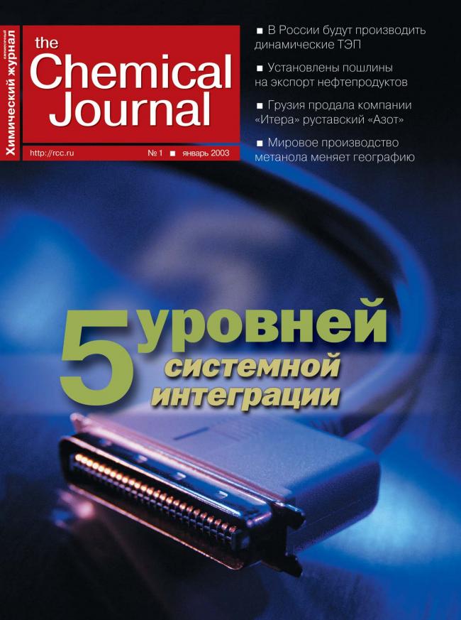 Январь 2003 | Выпуск